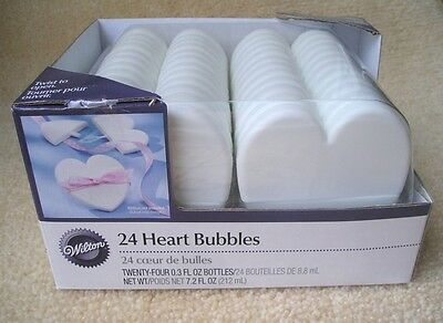 24 Personalized Custom Bridal Heart Bubble Party Wedding Favors Many Graphics