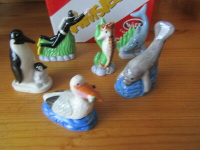 2 X 2008 Wade Sets Of  Under The Sea Whimsies 12 Figures In All Set 1 And Set 2