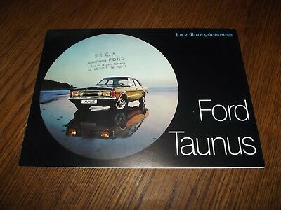 Catalogue Ford Taunus 1970