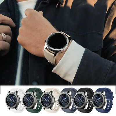 For Samsung Gear S3 Frontier/Classic!Quick Fit TPU Sports Bracelet Wrist Band