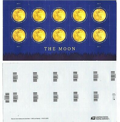 USPS Sealed Package! The Moon Global Forever Stamps International Souvenir Sheet