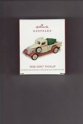 "2018   ""1936 GMC  PICKUP ""  Hallmark  ""LIMITED EDITION""  Ornament"