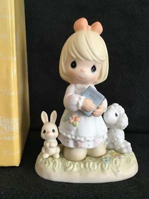 Precious Moments Blessed With A Loving Godmother 795348 Rare Enesco Figurine