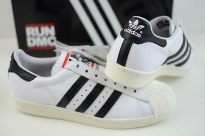 30d5f874a79a ADIDAS ORIGINALS RUN DMC SUPERSTAR 80S TRAINERS BNIB sz 9.5 M17513 ...