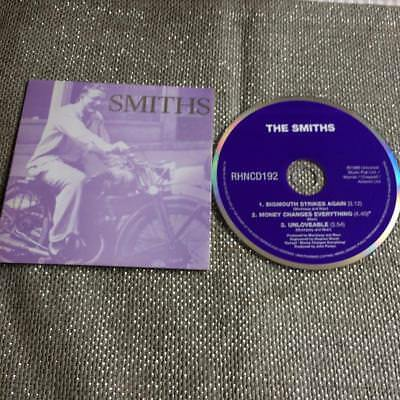 The Smiths CD Single Card Sleeve Bigmouth / Money Changes Everything/ Unloveable