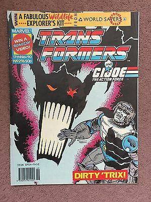Transformers Comic Marvel Uk #296