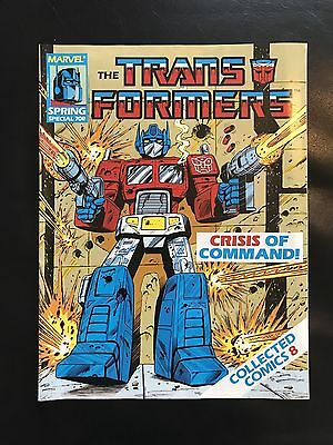Transformers Comic Marvel Uk #8 Collected Comics Special Fantastic Condition