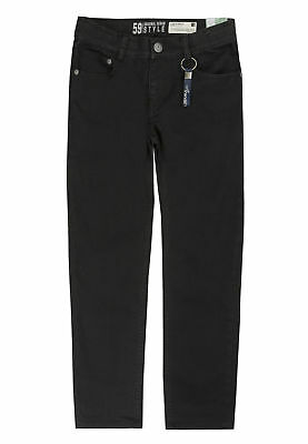 Lemmi Jungen Jeans schwarz tight fit, black slim  Gr 128  - 176 Aktionspreis!