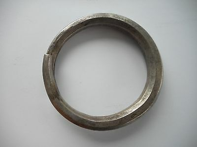 Heavy Old Coin Silver Bracelet Laos SE Asia