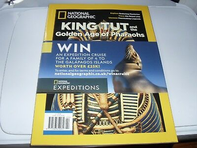 National Geographic magazine Special 2018 King Tut & the Golden Age of Pharaohs
