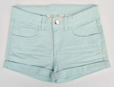 Girls Teens Cotton Multi Colour Mint Or Checked Shorts Age 8 9 10 11 12 13 14 15