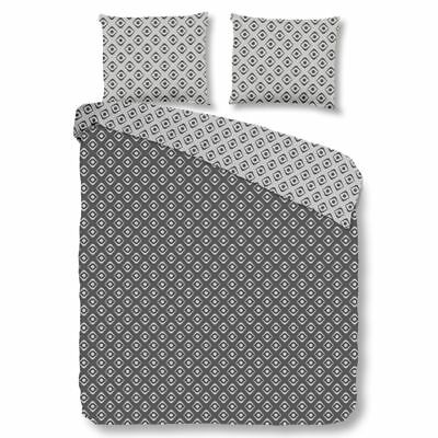 Good Morning Housse de couette 5286-A PATTERN 135x200 cm Anthracite#
