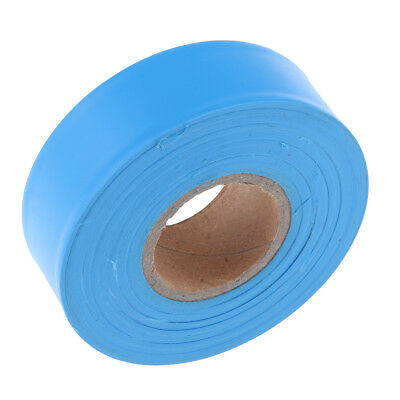 High Visibility Bright Color Non Adhesive Marking Ribbon Flagging Tape Blue