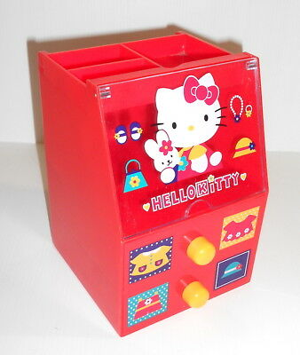 HELLO KITTY 1996 Sanrio Japan chest with drawers loose - scrigno cassettiera