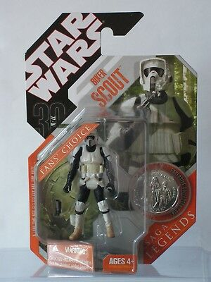 STAR WARS Biker Scout MOC The 30th Anniversary Collection
