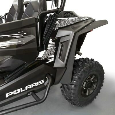 "New 2015-2018 Polaris Utv Rzr ""s"" 900 1000 4 Eps Fender Flares  Mud Guards Black"