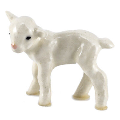Hagen Renaker White Lamb #276 Miniature Ceramic Sheep Figurine