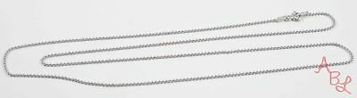 Charles Garnier Sterling Silver 925 Ball Linked Necklace 24'' (2.8g) - 724700