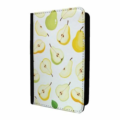 Passport Holder Case Cover Pears Green Pattern - S1230