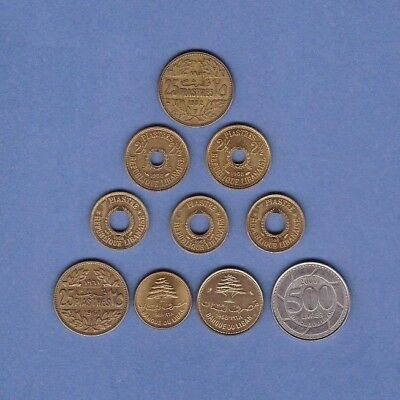 Lebanon - Coin Collection Lot # C-22 - World/Foreign/Middle East