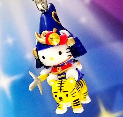 Hello Kitty X Kumamoto Castle Tiger Swarovski Elements Crystals Japan Charm
