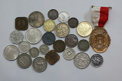 Many Old World Coins Useful Lot A88 Rzl12