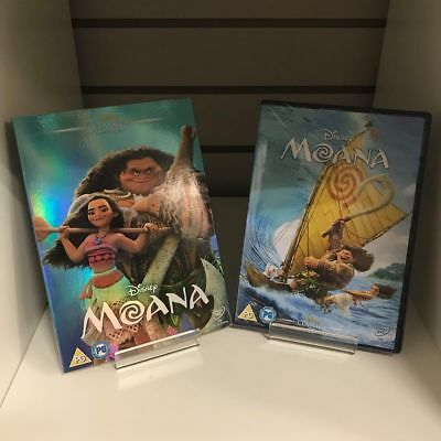 Moana DVD Disney + Collectable Sleeve - New and Sealed Fast and Free Delivery