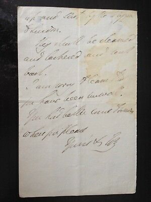 The Duke Of Wellington - Battle Of Waterloo Victor & P.m. - Signed 2 Page Letter