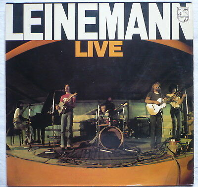 LEINEMANN - Live in Hamburg - LP