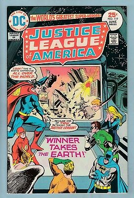 Justice League Of America # 119 Vfn (8.0) Glossy High Grade_Cents_50% Off Guide
