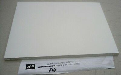 heritage white water colour art  paper A4 20 Sheets