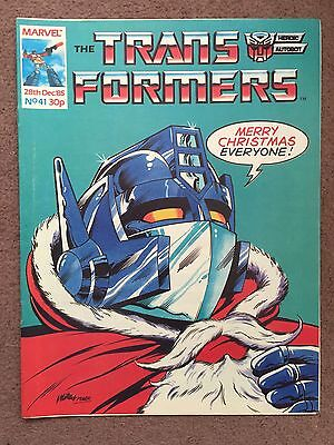 Transformers Comic Marvel Uk #41