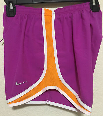 Nwt Women Nike 716453 517 Tempo Track Dri-Fit Running Solid Shorts Size Xs $32