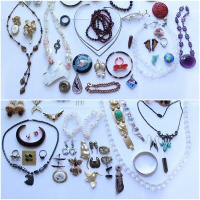 Lot of Antique, Vintage & Modern Jewelry For Wear or ReSell