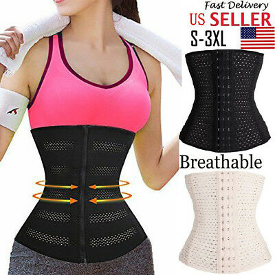 US WOMEN FAJAS Reductoras Colombianas Waist Trainer Corset Shapewear Body  Shaper