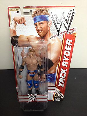 Zack Ryder WWE 2012 Superstar # 60 Wrestling Action Figure NIB Mattel NIP WWF
