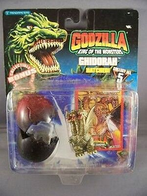 Godzilla King of the Monsters Ghidorah Hatched Action Figure NIP Rare NIB 1994