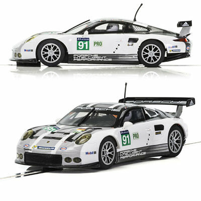 SCALEXTRIC Slot Car C3944 Porsche 911 GTE LeMans 2016