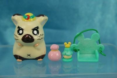 Epoch Tottoko Hamtaro Characters Pencil Toppers Mini Figure Set Boss