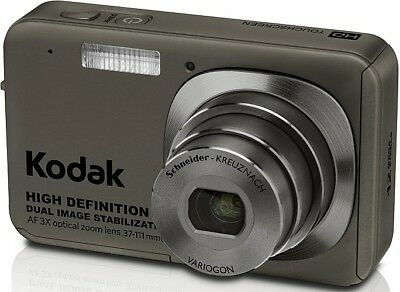 Kodak EasyShare V1273 12.1MP Digital Camera - Dark gray