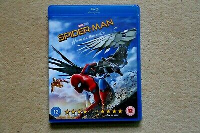 Blu-Ray Marvel Spider-Man Homecoming  ( With Limited Edition Slipsleeve ) New