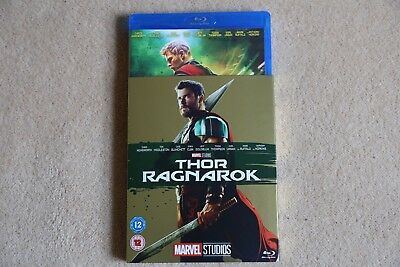 Blu-Ray Marvel Thor Ragnarok  ( With Limited Edition Slipsleeve ) New