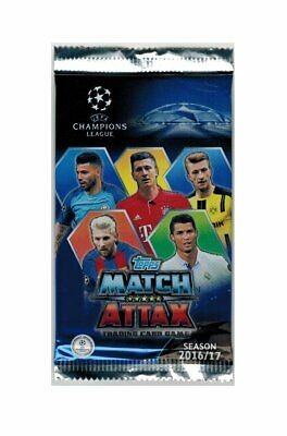 Match Attax Champions League 2016-2017 Cards 20 Bustine Promo