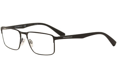 414fd3732abf EMPORIO ARMANI EYEGLASSES EA1046 EA 1046 3001 Matte Black Optical Frame  55mm -  79.95