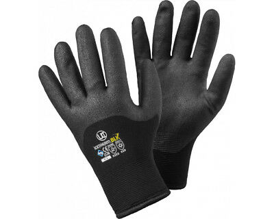 Uci Winter Thermal Gripper Safety Work Gloves Thermo Warm Lining Durable Freezer