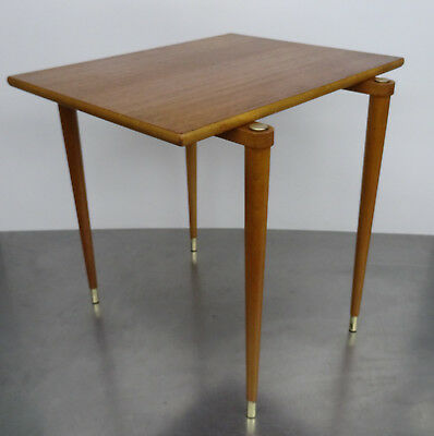 Vintage Teak Holz Tisch - Danish Design side table - mid century desgn ~ 60er