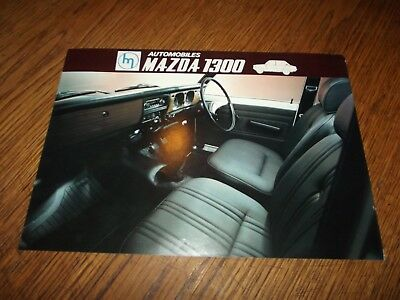 Catalogue Mazda 1300 1970.