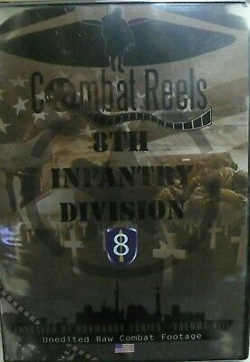 COMBAT REELS DVD 9Th Infantry Division Invasion Of Normandy Combat