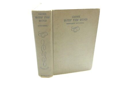 Vintage 1937 Gone With The Wind By Margaret Mitchell Hardback Book (January)