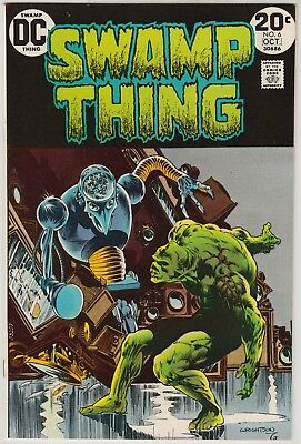Swamp Thing #6, Dc Comics 1973, Nm- Condition